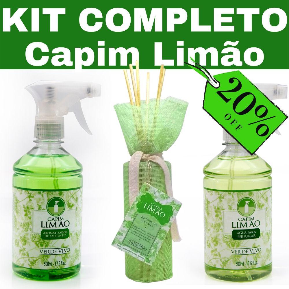 Kit Capim Limão Completo