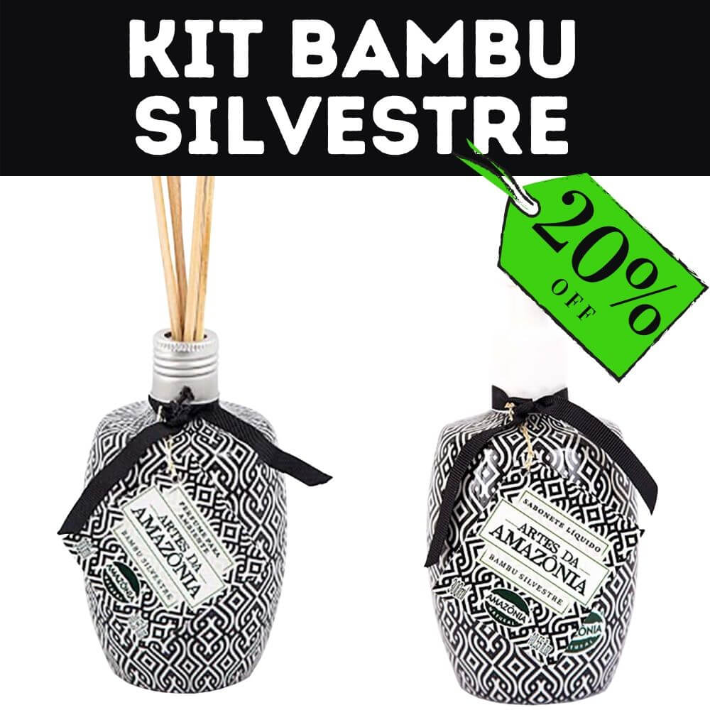 Kit Completo Bambu Silvestre