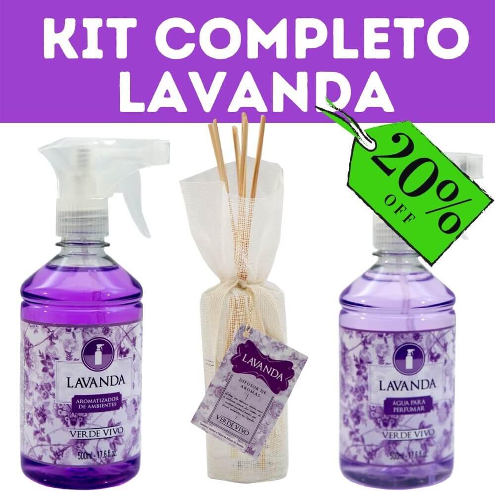 Kit Completo Lavanda