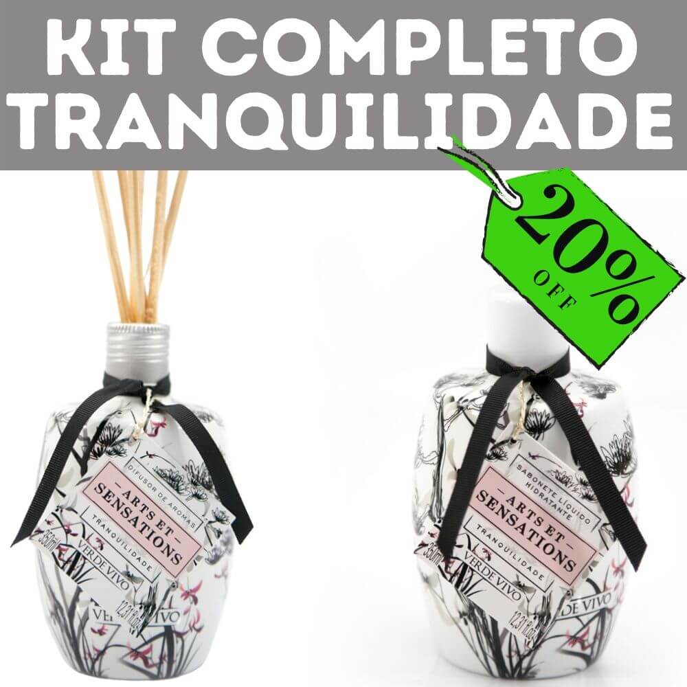 Kit Completo Tranquilidade