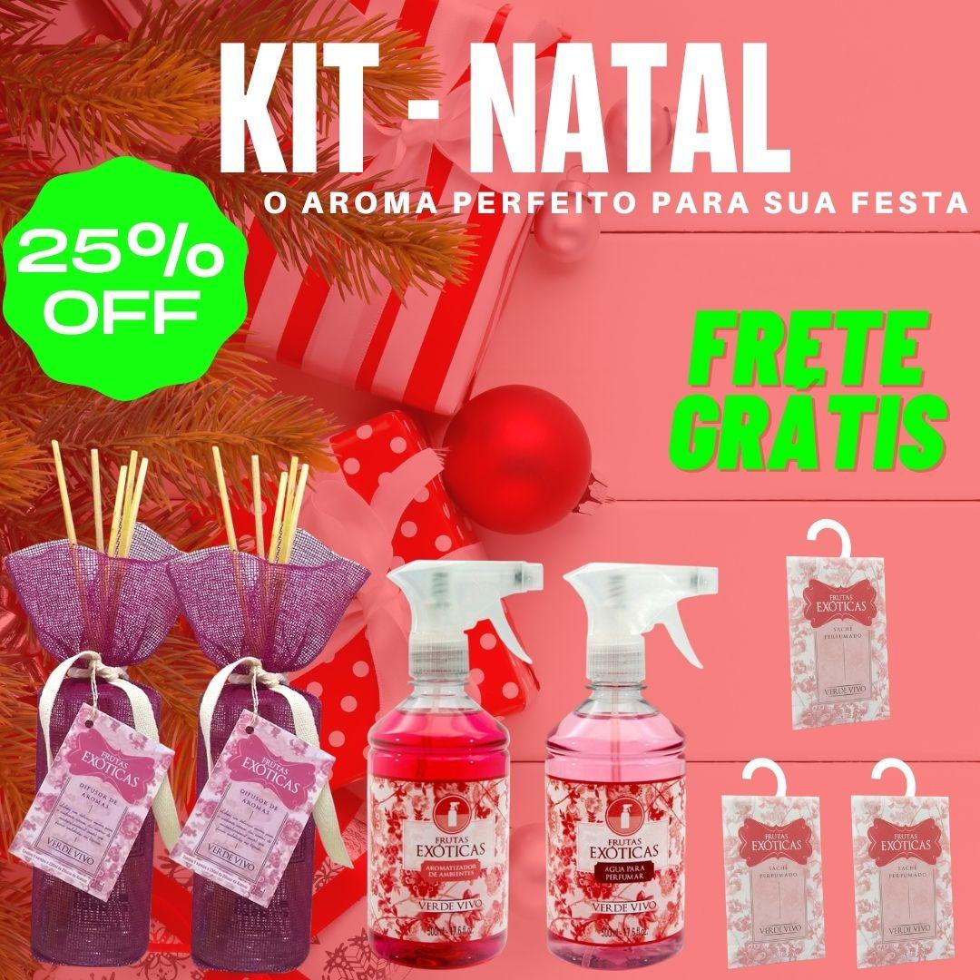 kit Natal Frutas Exóticas