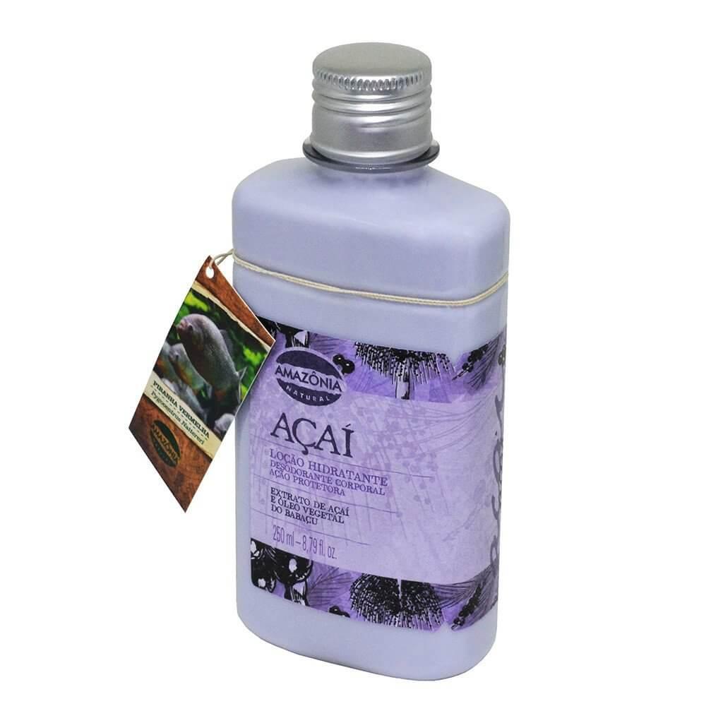 Loção Hidratante Desodorante Corporal Açaí Amazônia Natural 250ml