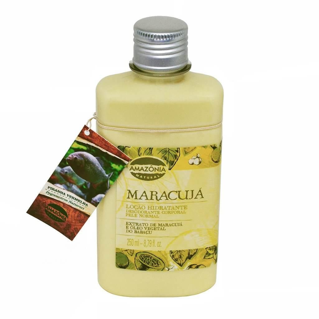 Loção Hidratante Desodorante Corporal Maracujá Amazônia Natural 250ml