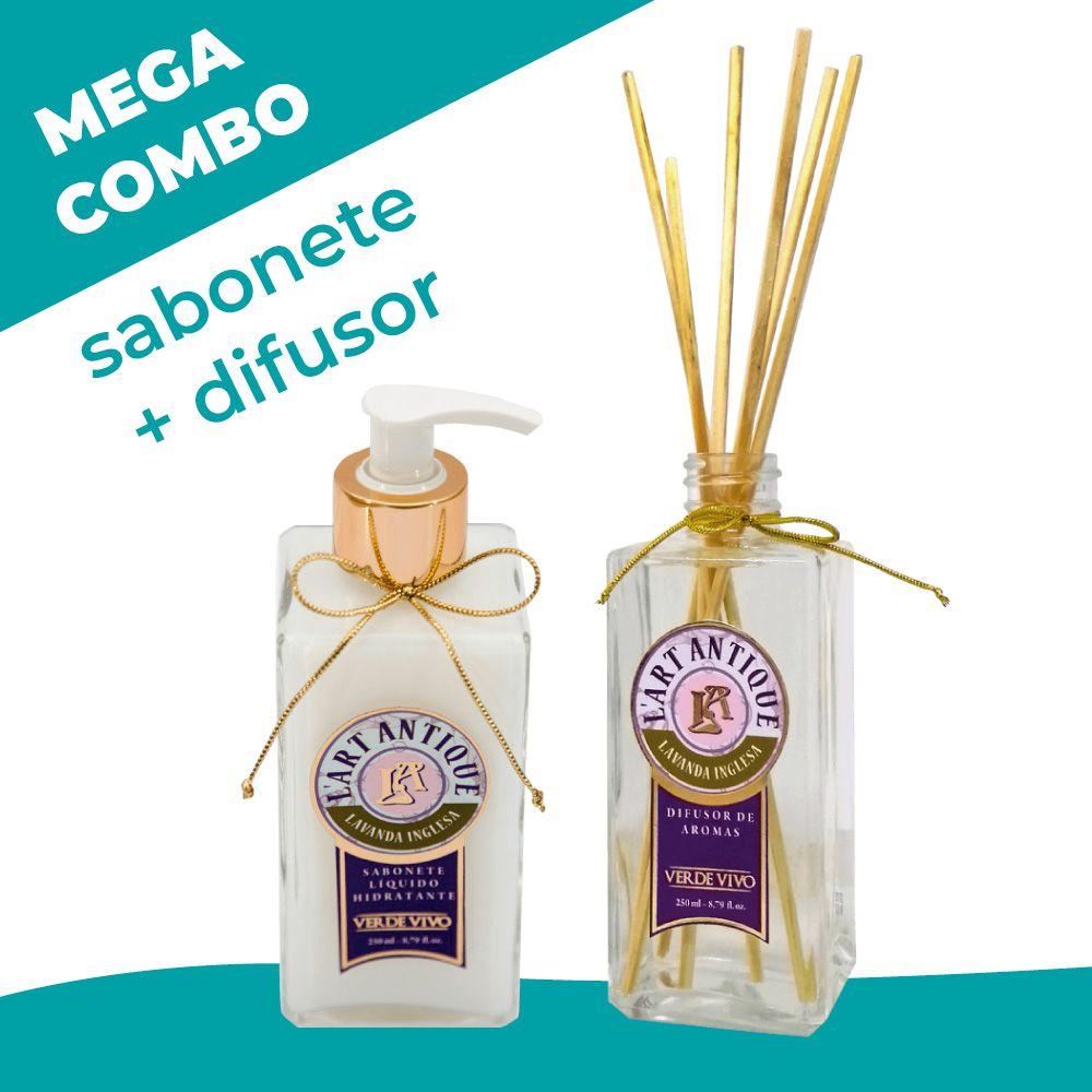 Mega combo! Sabonete + Difusor Lavanda Inglesa