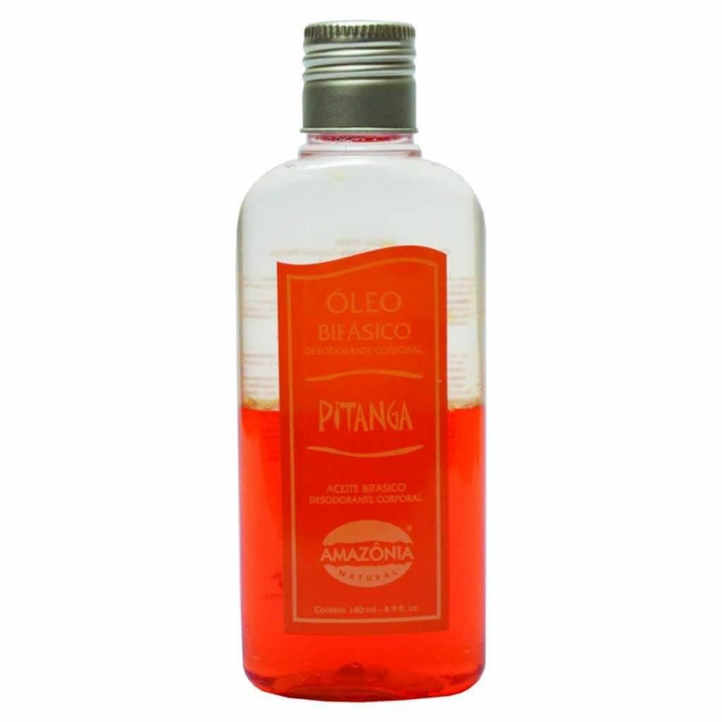 Óleo Bifásico Desodorante Corporal Pitanga Amazônia Natural 140 ml