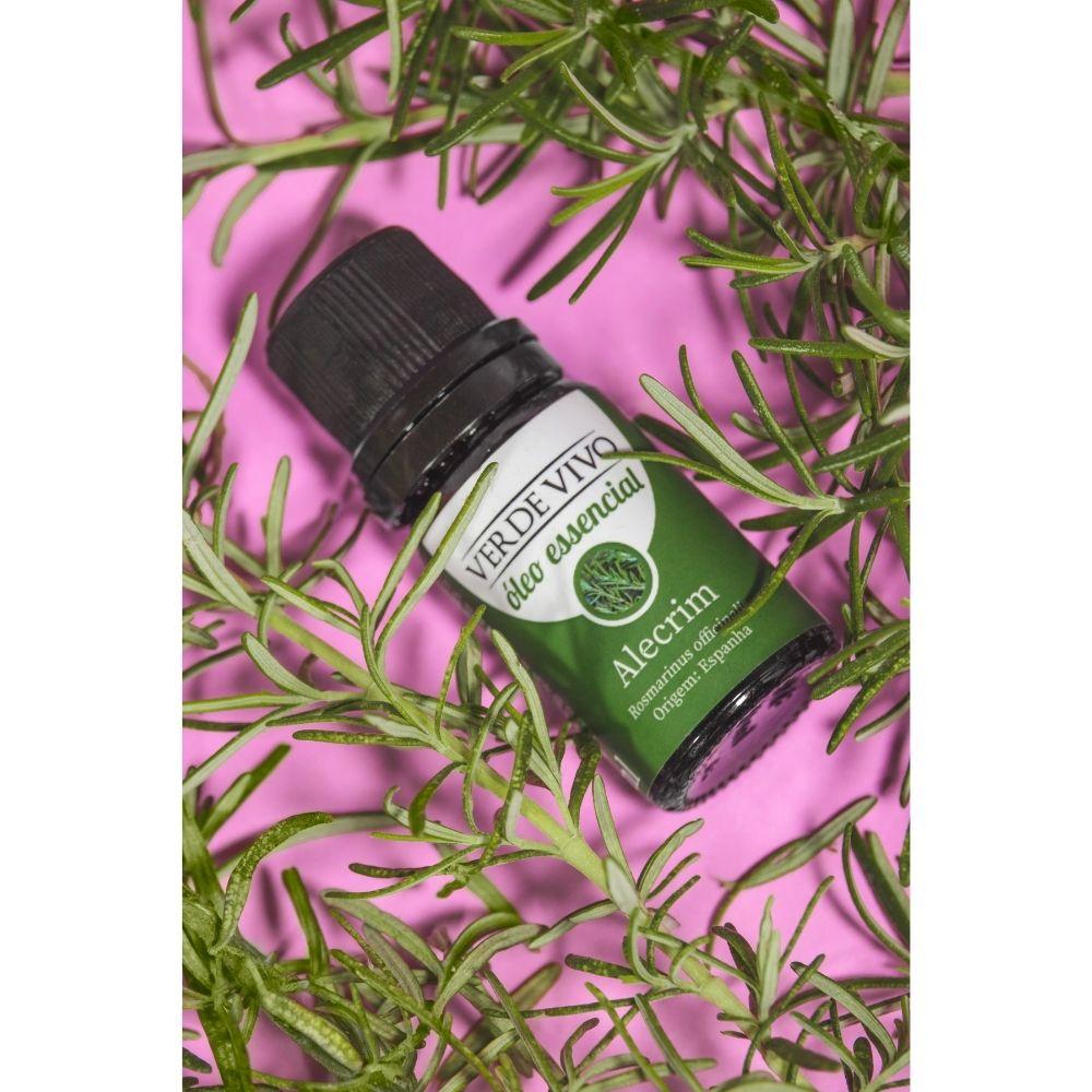 Óleo essencial alecrim 10ml verde vivo