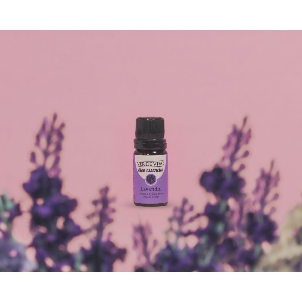 Óleo essencial lavandin 10ml verde vivo