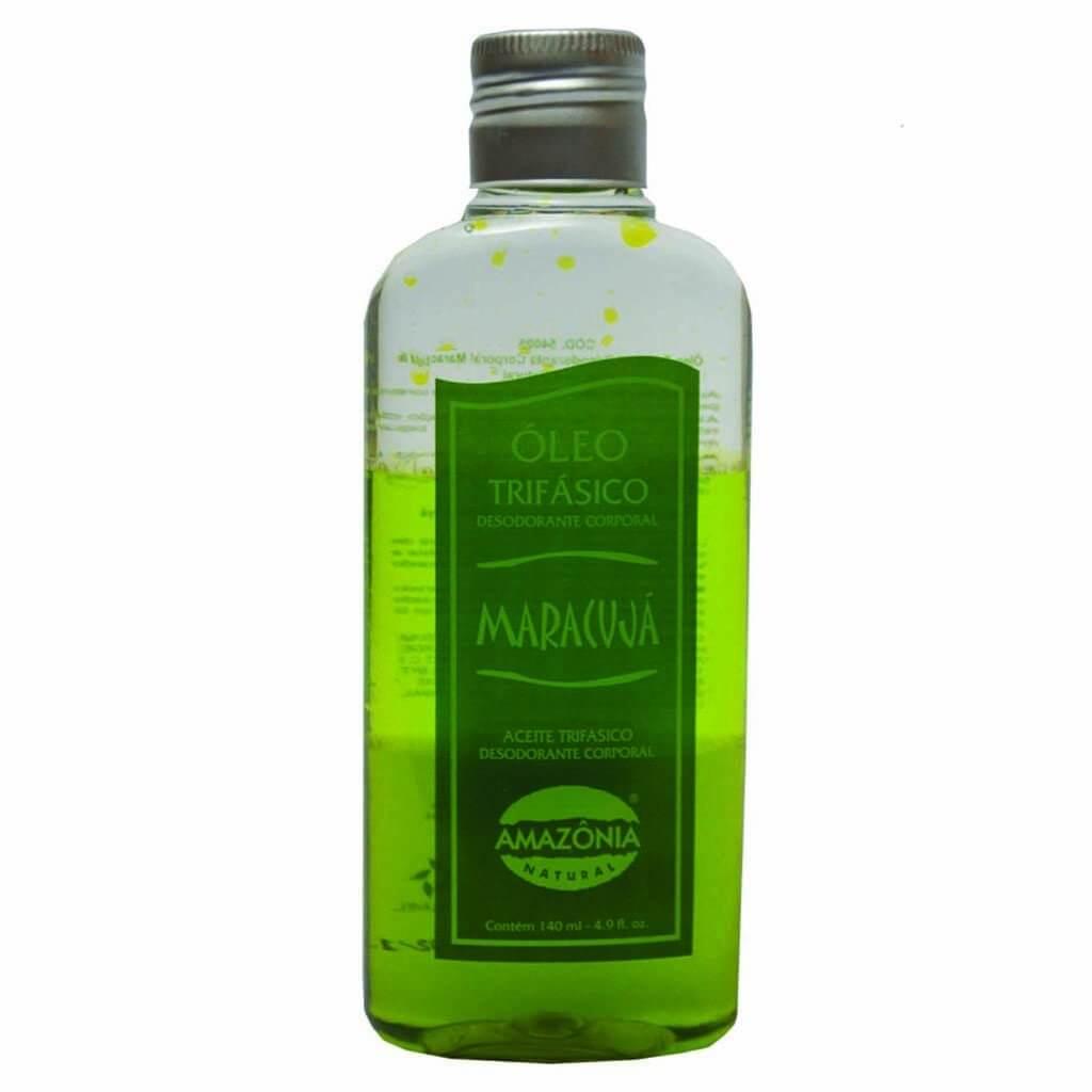 Óleo Trifásico Desodorante Corporal Maracujá Amazônia Natural 140ml