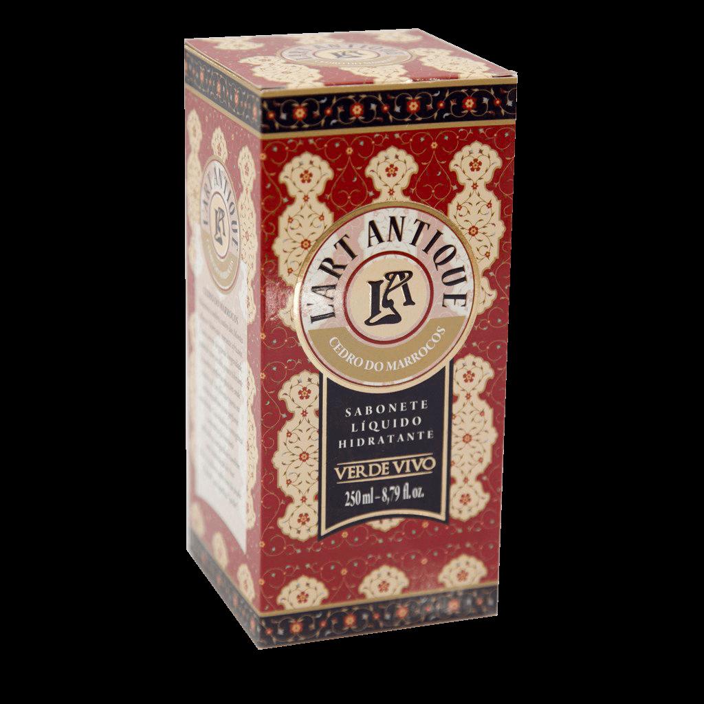 Sabonete Líquido Hidratante L'art Antique Cedro do Marrocos 250ml