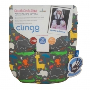 Almofada Para Carrinho Mini Comfi-Cush Jungle Clingo