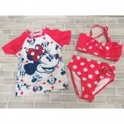 Biquini + Camiseta Minnie Disney