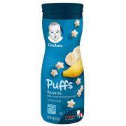 Biscoitinho Snack Puffs Banana 42g Gerber