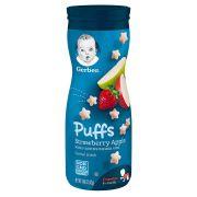 Biscoitinho Snack Puffs Maçã / Morango 42g Gerber