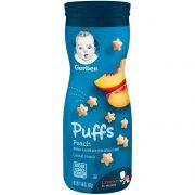 Biscoitinho Snack Puffs Pessego 42g Gerber