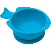 Bowl Silicone Com Ventosa Azul Buba