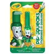 Canetinha Pip-squeaks Verde Skate Crayola