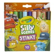 Canetinha Silly Scents Stinky 10 Cores Crayola