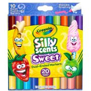Canetinha Silly Scents Sweet C/10und 20 Cores Crayola