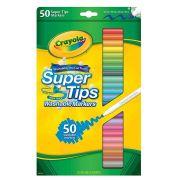 Canetinhas Laváveis Super Tips 50 Cores Crayola