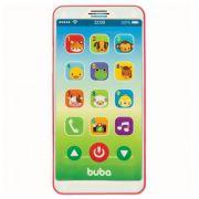 Celular Musical Baby Phone Rosa +12 Meses Buba