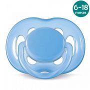 Chupeta Freeflow 6-18meses Azul Philips Avent