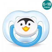 Chupeta Freeflow 6-18meses Pinguim Philips Avent