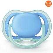 Chupeta Ultra Air Lisa 6-18m Azul Philips Avent