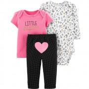 Conjunto 3peças Little Sister Carters
