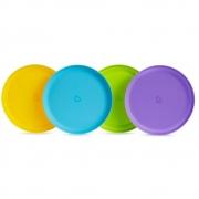 Conjunto Pratos Coloridos C/4 Munchkin