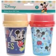 Copo 360º Mickey Azul 220ml +6m 2und Disney