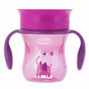 Copo Perfect Cup Roxo 200ml +12m 360º Chicco