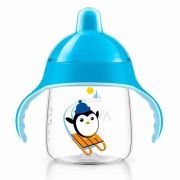 Copo Pinguim 260ml +12m Azul Philips Avent