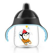 Copo Pinguim 260ml +12m Preto Philips Avent