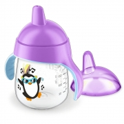 Copo Pinguim 260ml +9m Roxo Philips Avent
