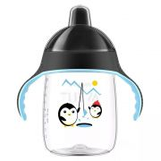 Copo Pinguim 340ml +18m Preto Philips Avent