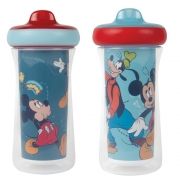 Copo Térmico Mickey e Pateta 266ml +12m C/2 Disney Tomy