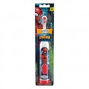 Escova Dental Elétrica Homem Aranha +3anos Spinbrush