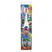 Escova Dental Elétrica Super Mario +3anos Spinbrush