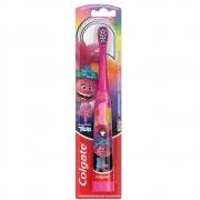 Escova Dental Elétrica Trolls Rosa +3 Anos Colgate