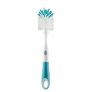 Escova Para Mamadeiras e Bicos 2em1 Azul  Buba