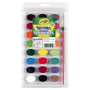 Estojo De Tinta Aquarela Lavável 24 Cores Crayola