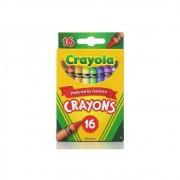 Giz de Cera 16 Cores Crayola