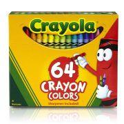 Giz De Cera 64 Cores Crayola