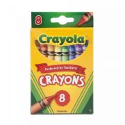 Giz de Cera 8 Cores Crayola