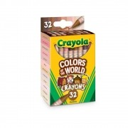 Giz de Cera Colors of The World 32 Cores Crayola