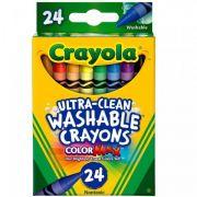 Giz de Cera Lavável 24 Cores Crayola