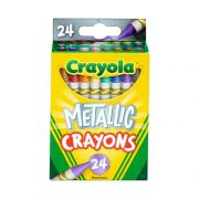 Giz De Cera Metallic 24 Cores Crayola