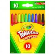 Giz de Cera Mini Twistables 10Cores Crayola