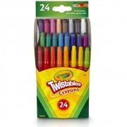 Giz de Cera Mini Twistables 24Cores Crayola