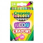 Giz de Cera Neon 24 Cores Crayola